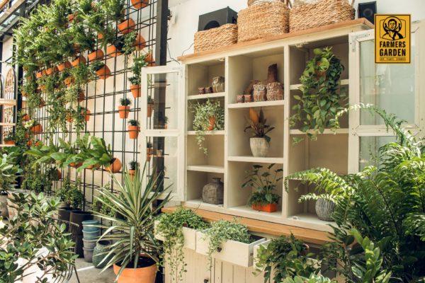 Gợi ý thiết kế quán cafe sân vườn ở Đà Nẵng (nguồn ảnh : Farmers' Garden)