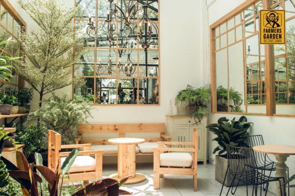 Gợi ý thiết kế quán cà phê sân vườn ở Đà Nẵng thietkequancafedanang43com
