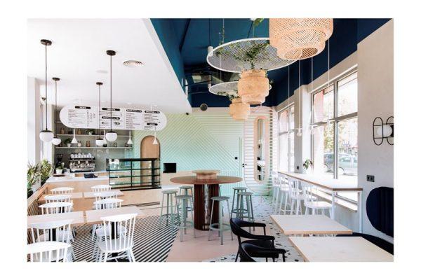 Cách trang trí nội thất quán cafe đẹp