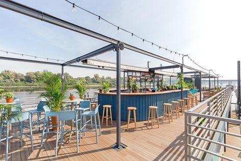 Tips decor quán cafe sân thượng đẹp