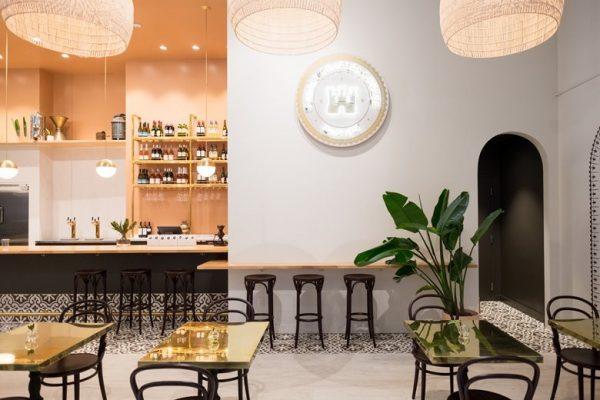 Không gian quán cafe đẹp