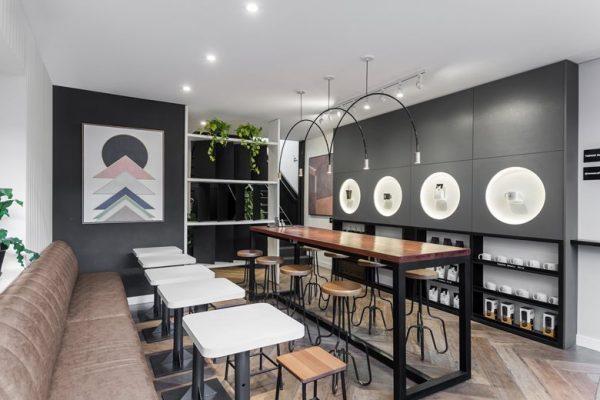 Mẫu quán cafe đà nẵng đơn giản