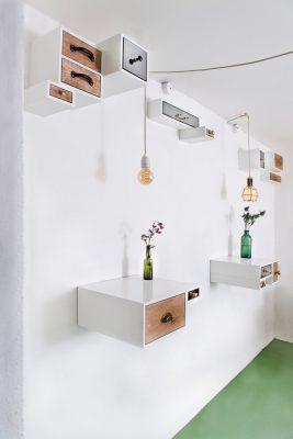 Thiết kế nội thất cafe đơn giản