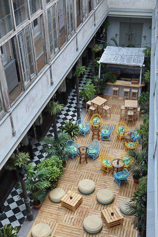 Thiết kế cafe ngoài trời