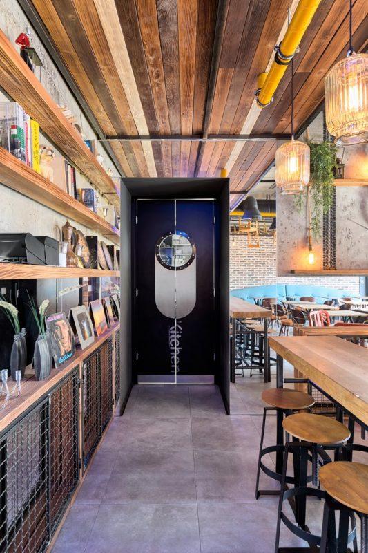 Thiết kế nội thất quán cafe kết hợp nhà hàng