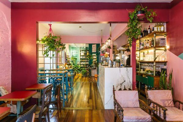 Ý tưởng thiết kế nội thất quán cafe