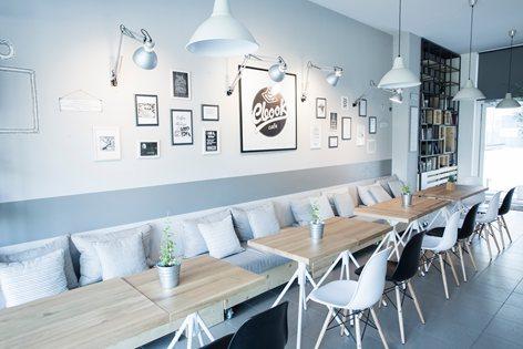 Thiết kế quán cafe sách đẹp