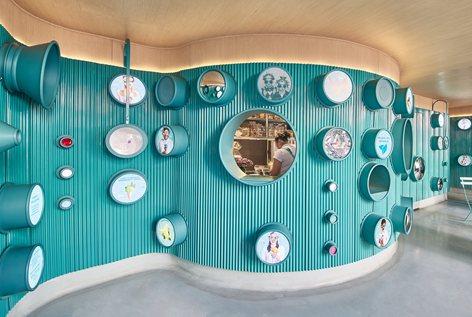 Ý tưởng thiết kế quán kem độc đáo