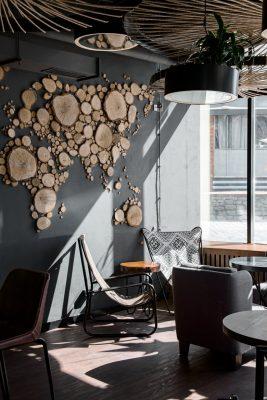 Lựa chọn chất liệu nội thất cho quán cafe