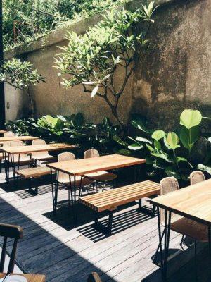cafe sân vườn đẹp lịm tim